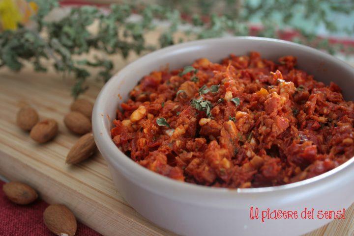 condimento di pomodori secchi