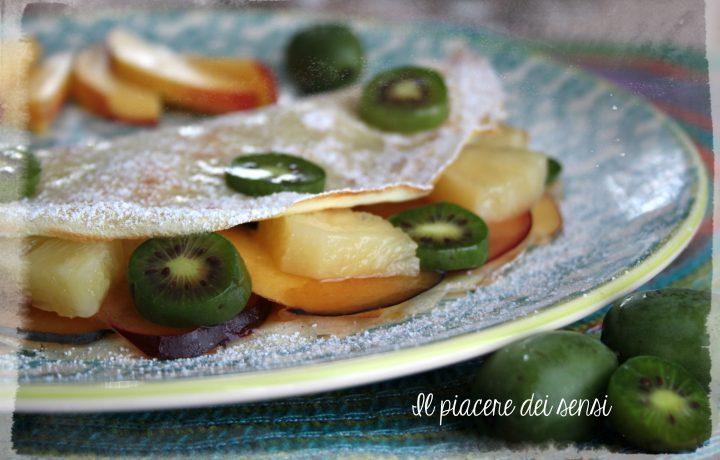 Crêpes alla frutta con confettura