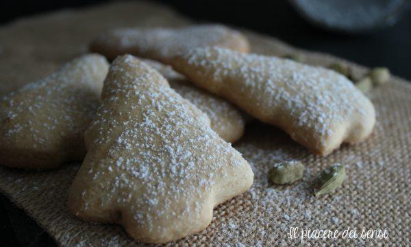 Biscotti al cardamomo – il profumo del Natale