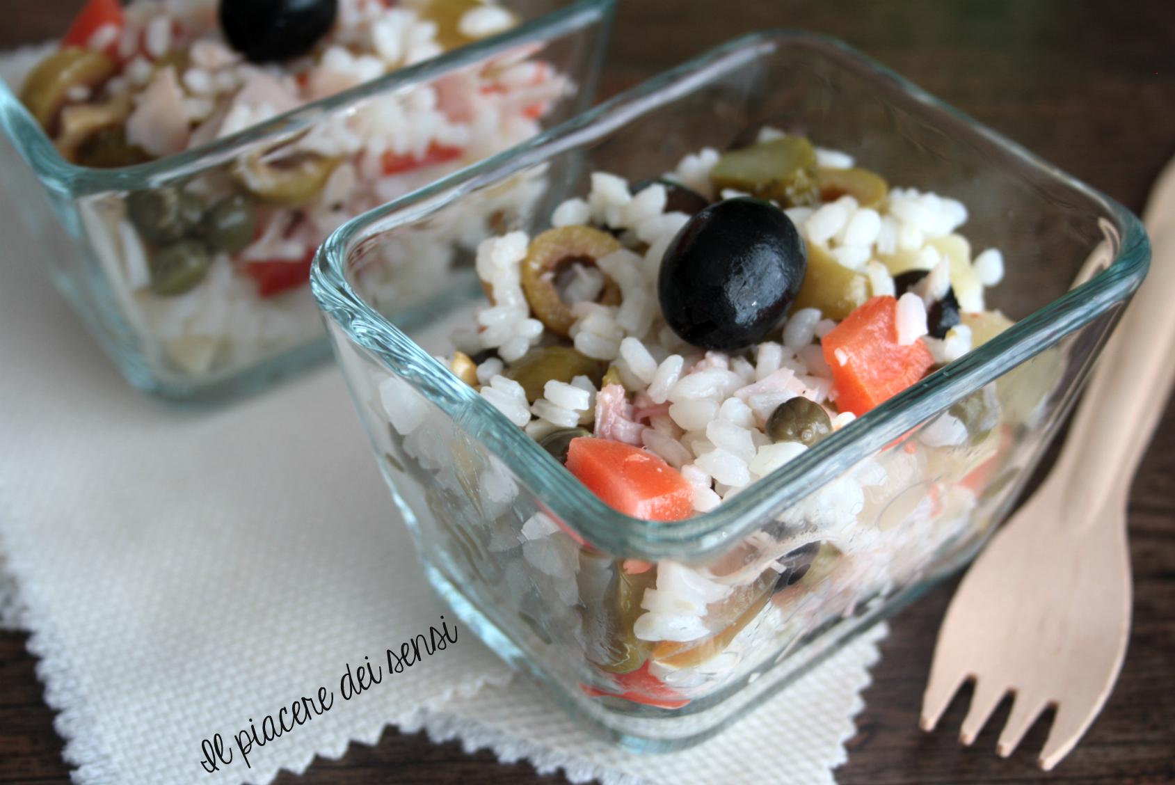 insalata di riso gustosa