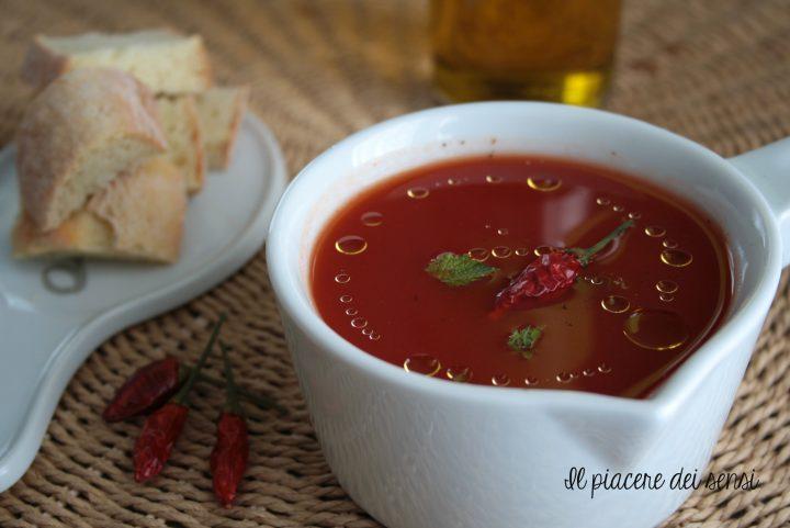 zuppetta fredda di pomodoro