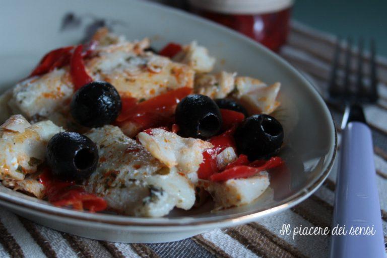 filetto di merluzzo con olive