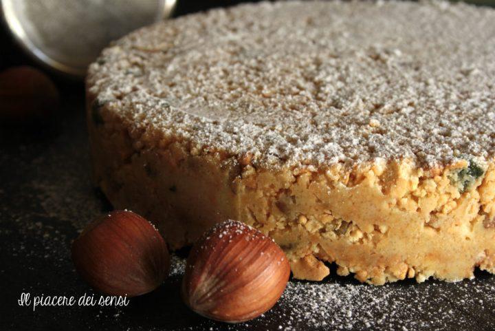 torta senza cottura al cioccolato bianco