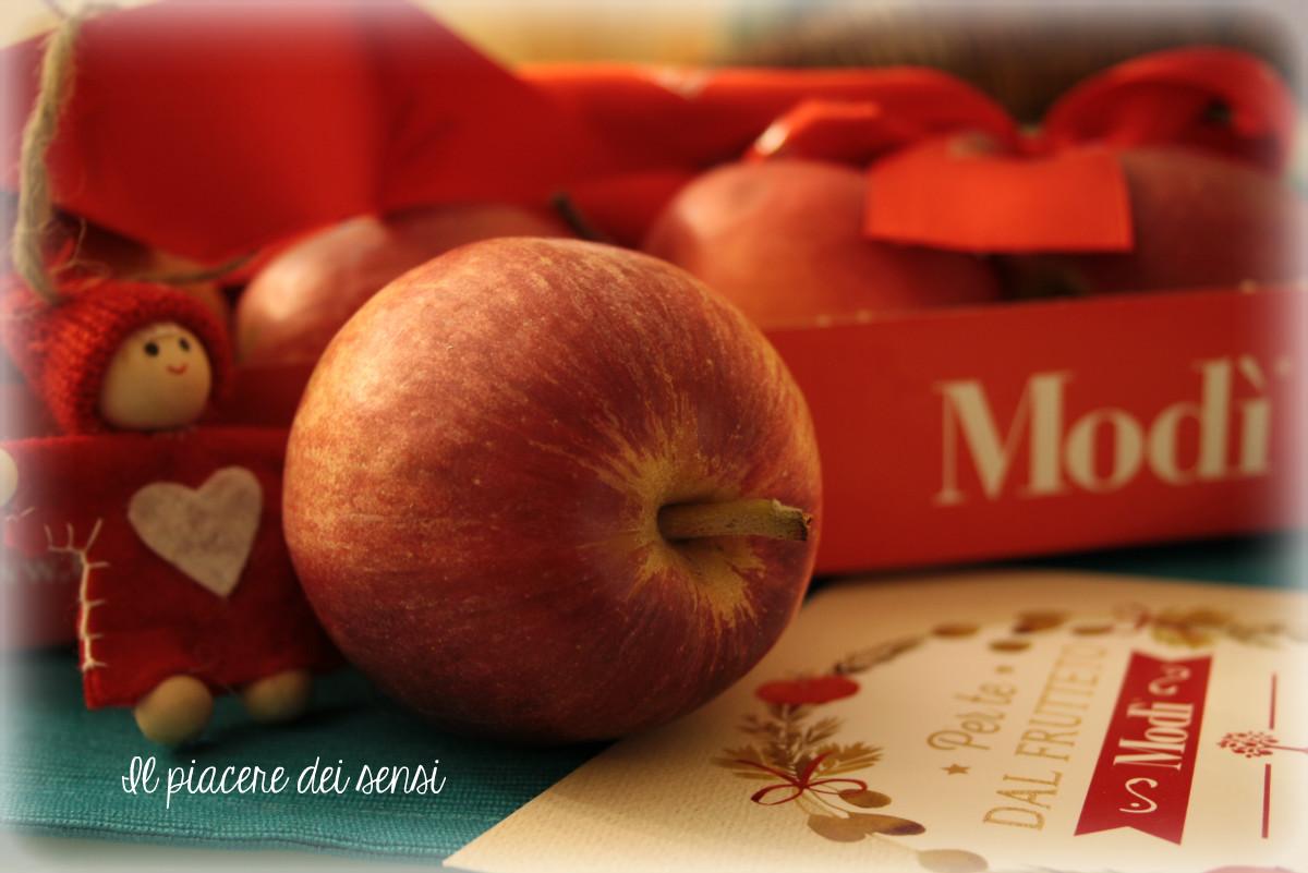 torta al cioccolato e mele
