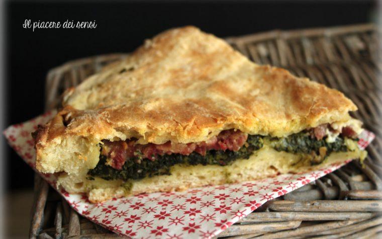 Torta salata con spinaci e cotechino – la Natalina