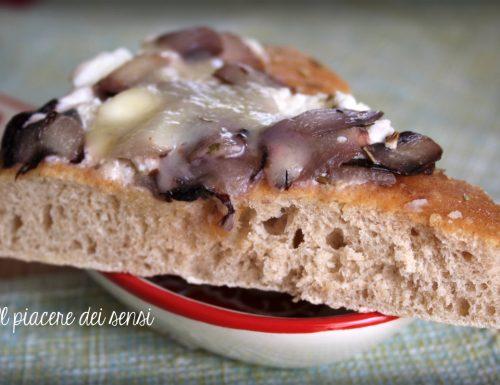 Focaccia con radicchio e ricotta – Macchina del pane