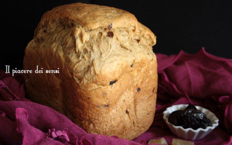 Pane alle prugne e zenzero – con e senza la macchina del pane