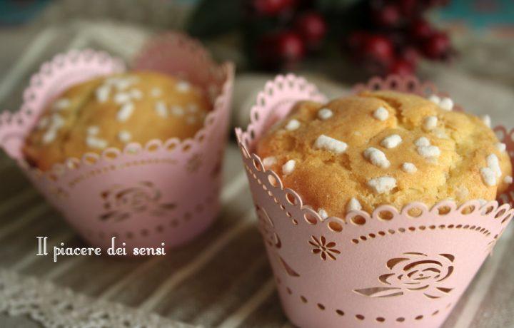 Muffins al mascarpone profumati all'arancia