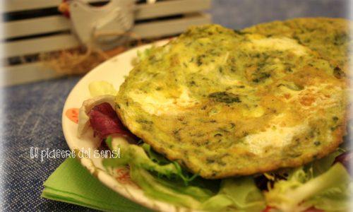 Frittatine con stracchino e spinaci
