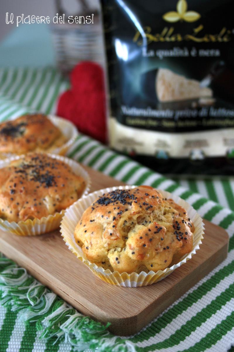 muffins prosciutto