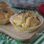 Muffins prosciutto e cetriolini velocissimi