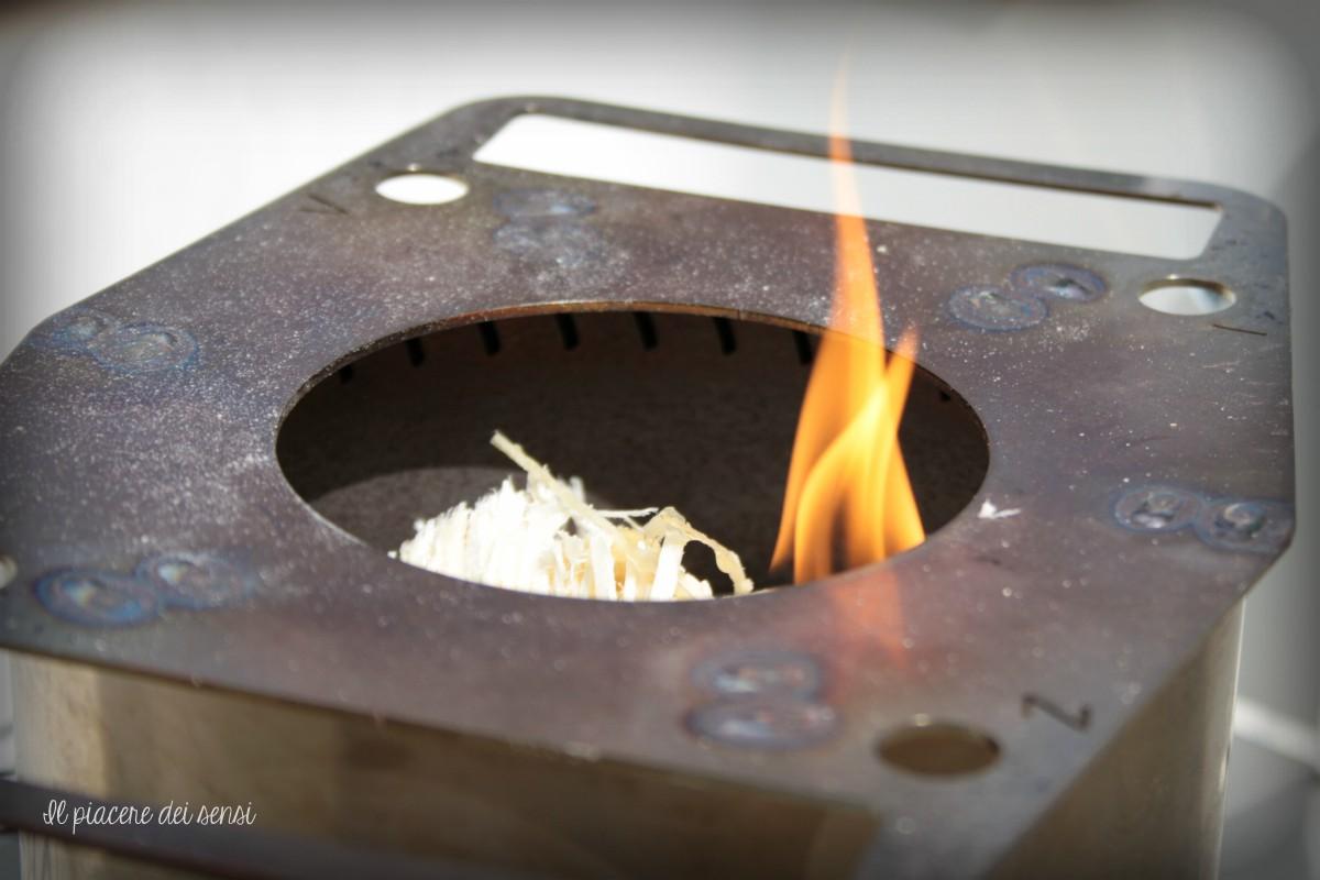 crostini con peperoni grigliati