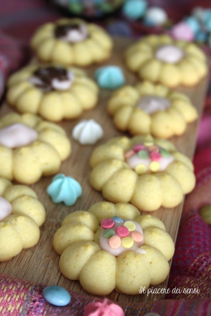 biscotti di frolla montata al mais
