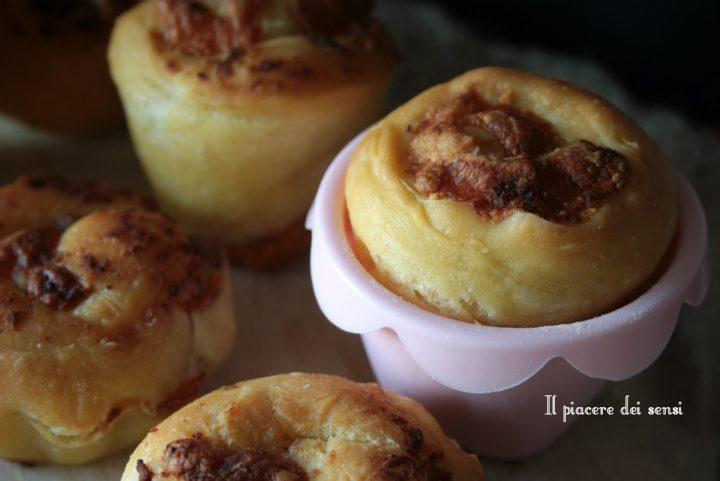 muffins speck e radicchio