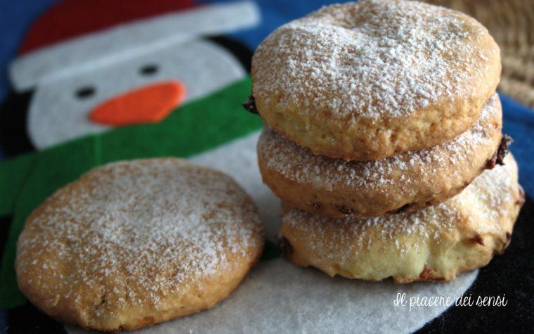 Biscotti senza zucchero con frutta essiccata