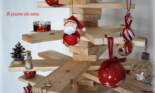Albero di Natale con pallet
