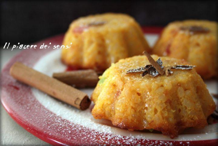 tortini dolci di riso