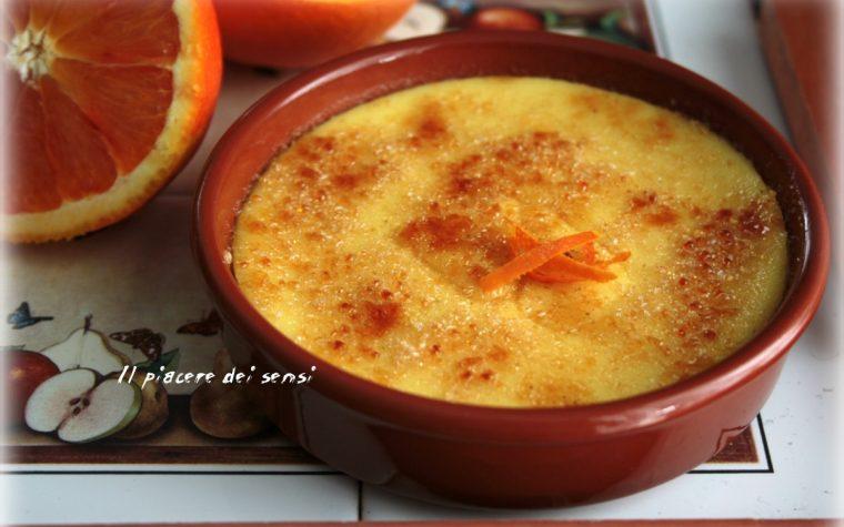 Crema catalana all'arancia – cucina senza forno