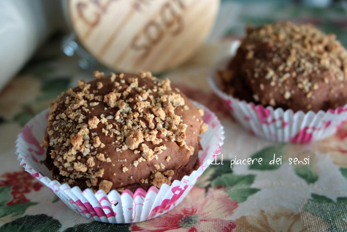 muffins al cacao senza zucchero
