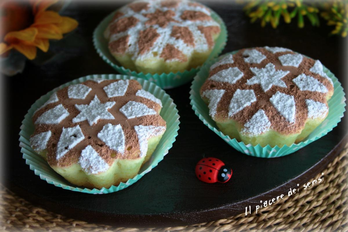 muffins con albumi all'arancia