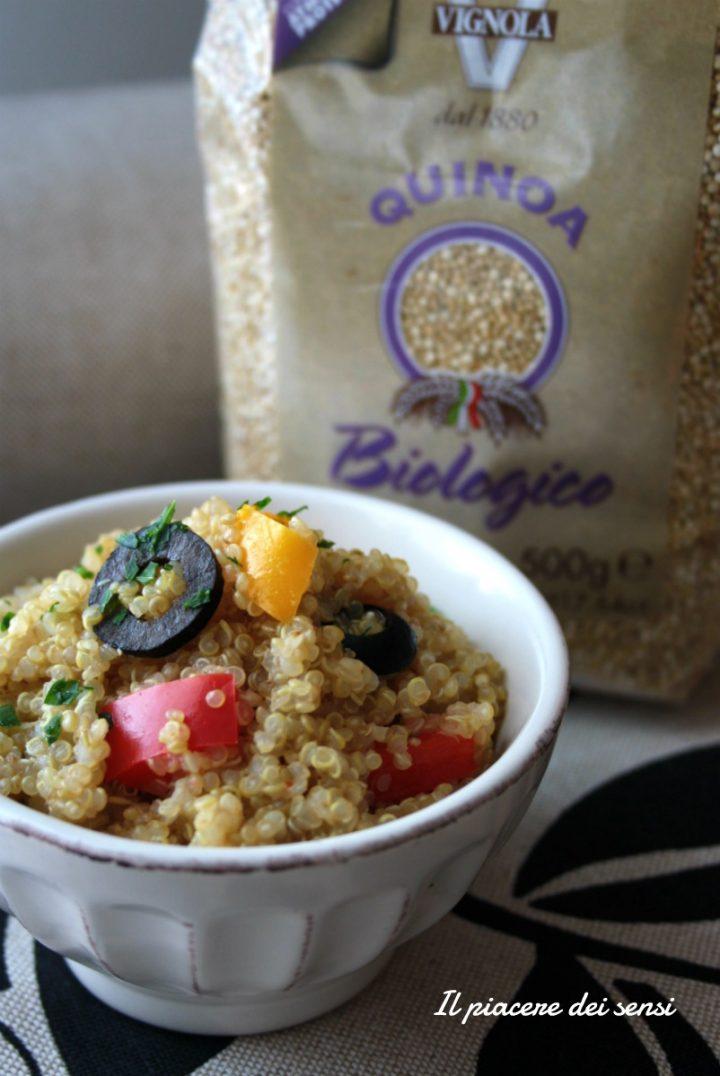 quinoa con peperoni