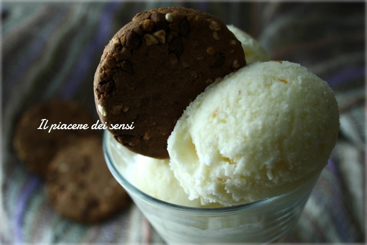gelato allo yogurt cocco-cereali