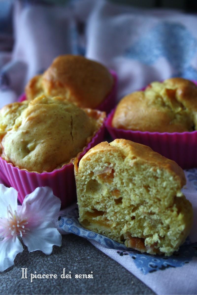 muffins alle pesche senza zucchero