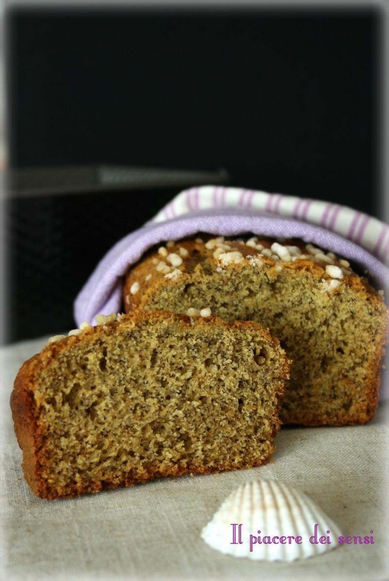 Plumcake di grano saraceno senza burro