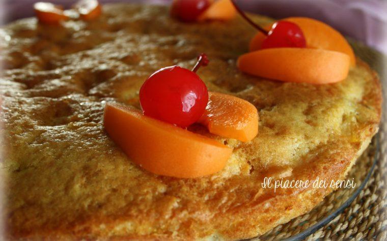 Torta con macedonia di frutta morbidissima