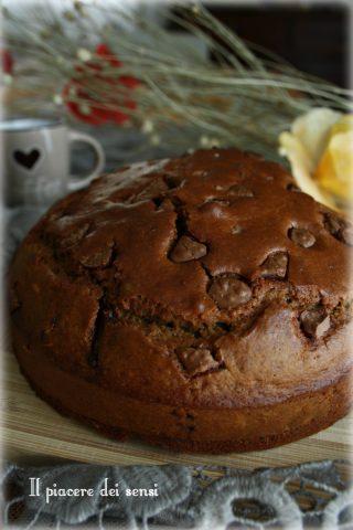 torta al caffè con cioccolato