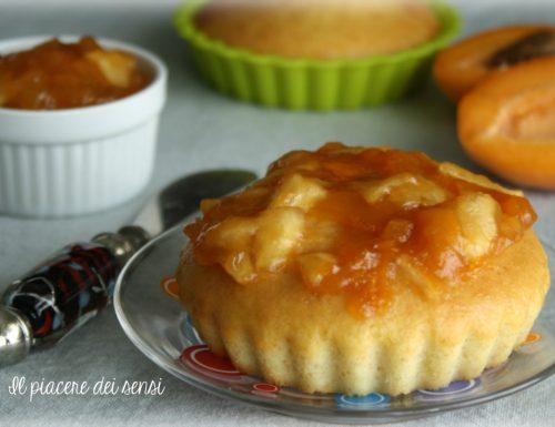 Tortine senza glutine con confettura di mele ed albicocche