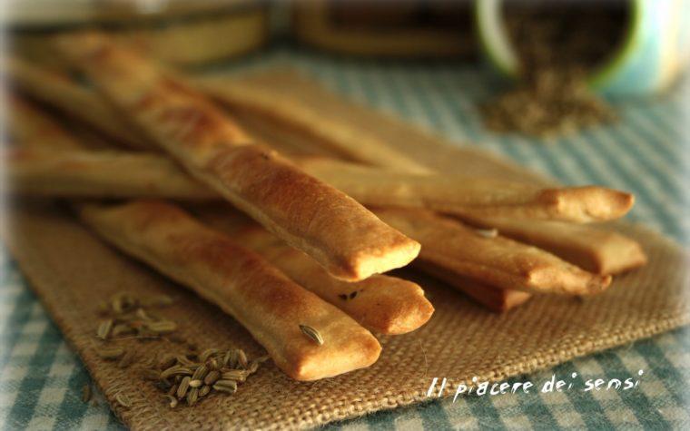 Stecche con semi di finocchio senza lievito