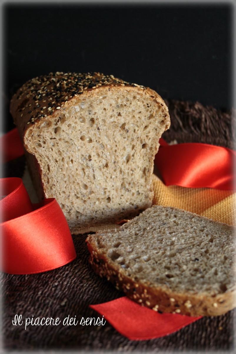 pane al farro con semi