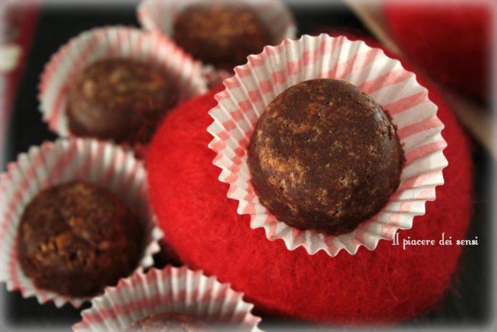 Bocconcini al cioccolato e crema di marroni