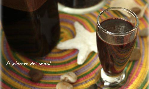Liquore al cacao fatto in casa