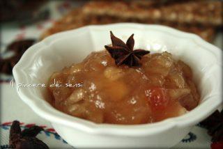 Confettura di mele con anice stellato