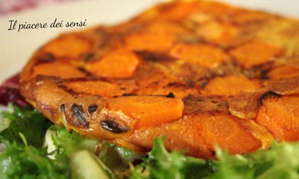Frittata di carote al forno
