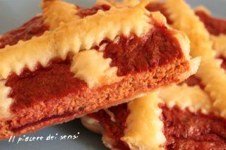 Torta salata alla barbabietola rossa