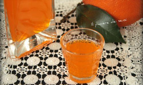 Arancello liquore alle arance
