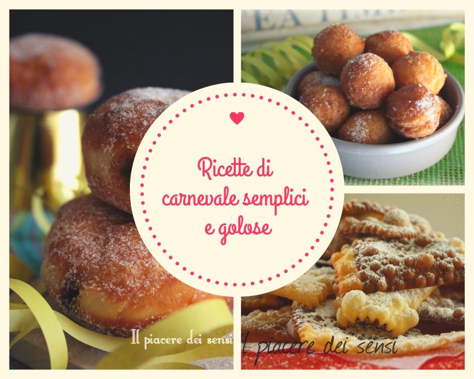 ricette di carnevale semplici e golose