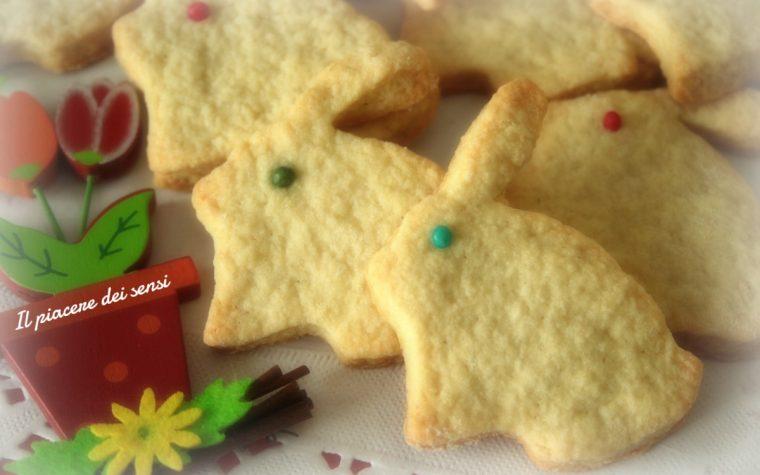 Coniglietti di pasta frolla al burro