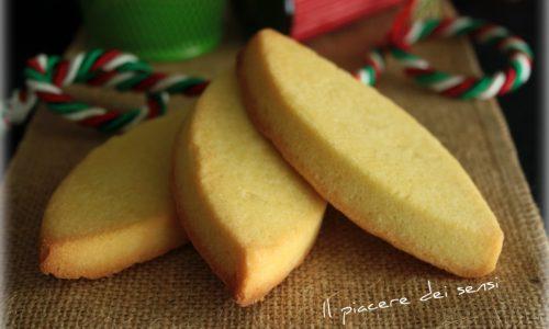 Lemon Meltaways biscotti al burro e limone