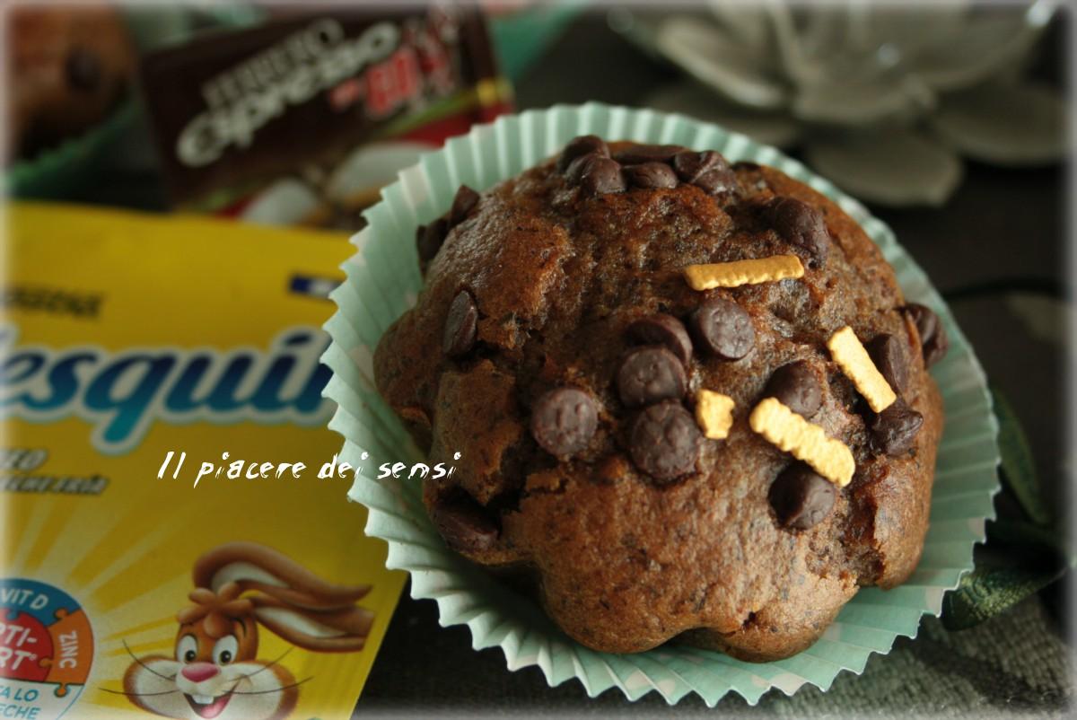 Muffins al Nesquik