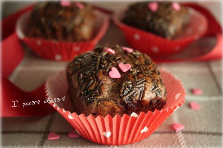 Muffins di grano saraceno al cappuccino