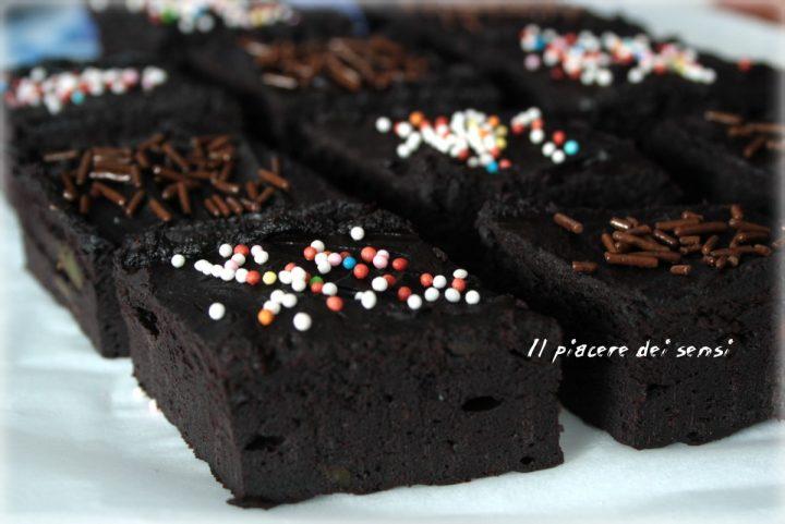 brownies con avocado al cacao