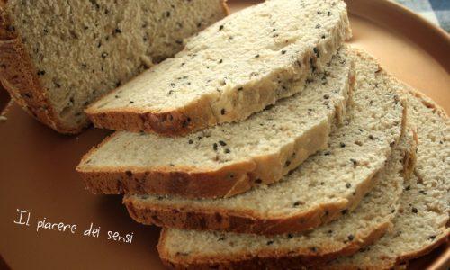 Pane in cassetta con semi di sesamo