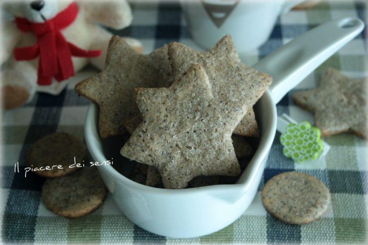 Biscotti al grano saraceno con zucchero di canna