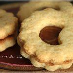 Biscotti accoppiati con dulce de leche