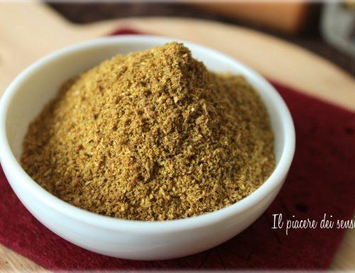 Ras el hanout mix di spezie marocchine
