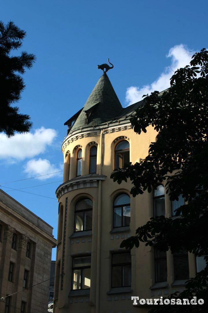Il centro storico di Riga